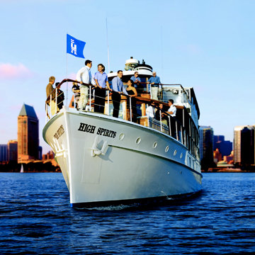 Hornblower offers an unforgettable experience for banquets wedding