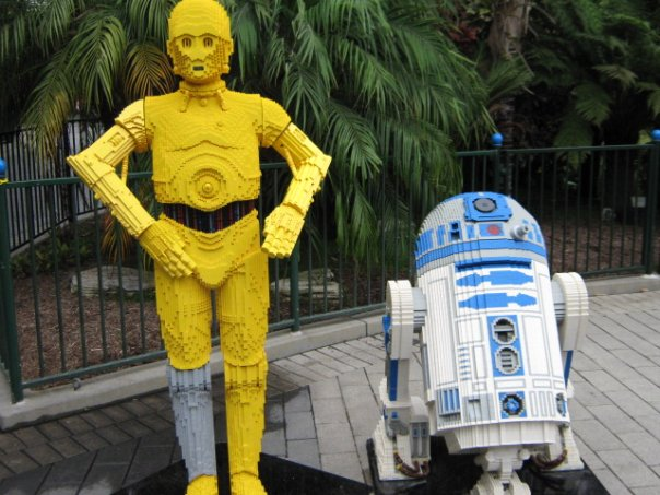 legoland star wars. Starwars Exhibit