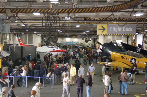 The Uss Midway Museum At The Embarcadero San Diegan
