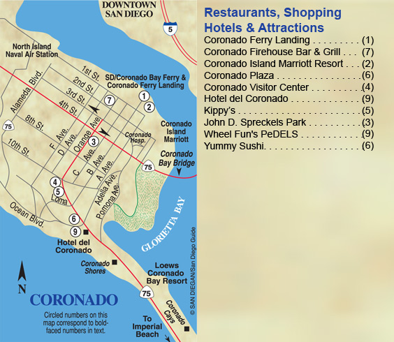 Coronado Plaza Is In The Heart Of Village With Ocean Views Delicious Dining