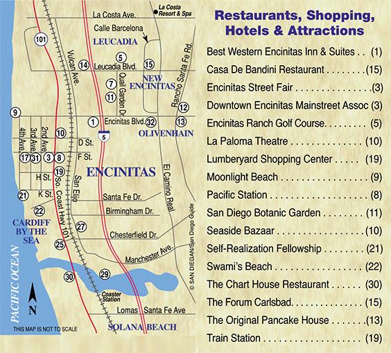Encinitas City Map